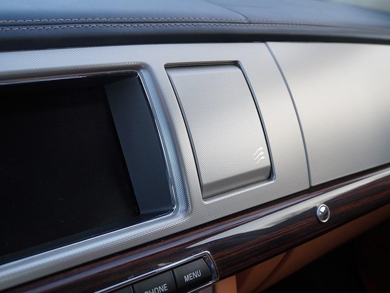 Jaguar XF 2011 дефлекторы системы вентиляции и отопления
