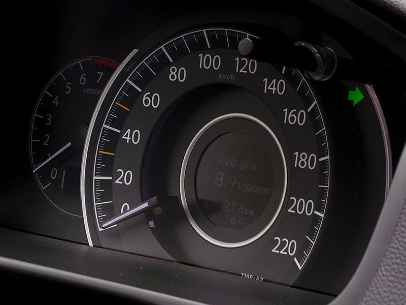 Honda CR-V 2015 приборная панель