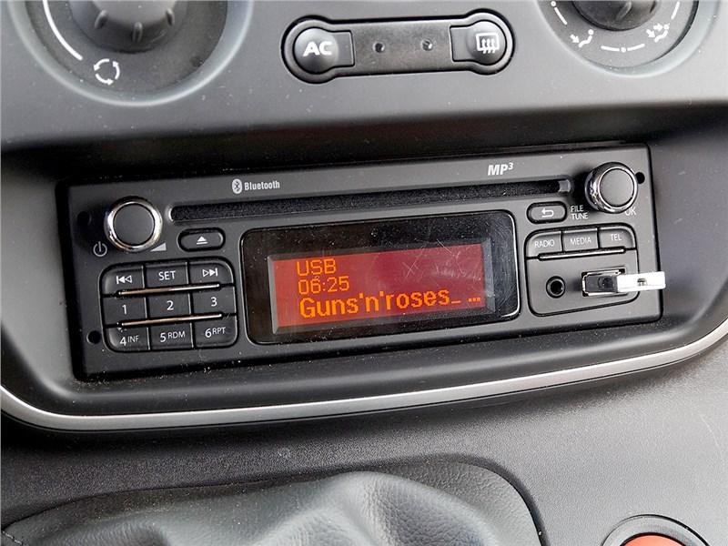 Renault Kangoo 2014 аудиосистема