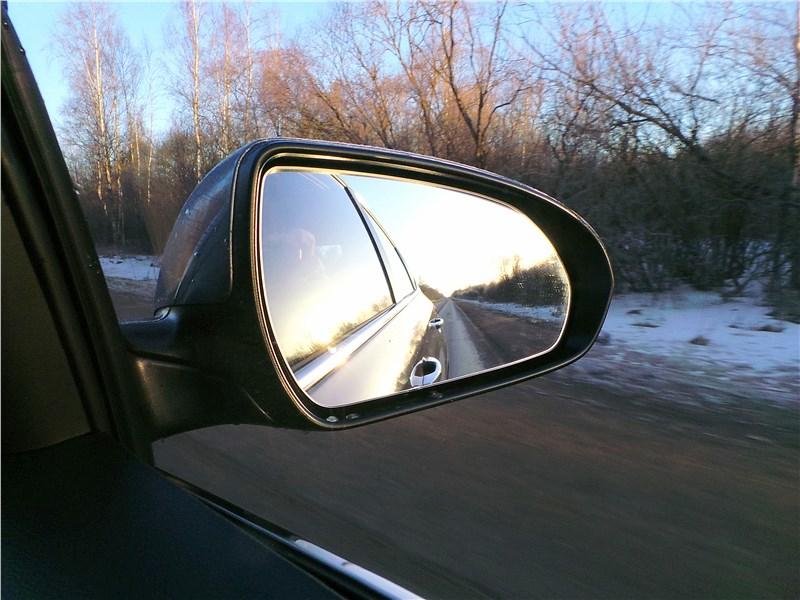 Hyundai Solaris 2017 боковое зеркало