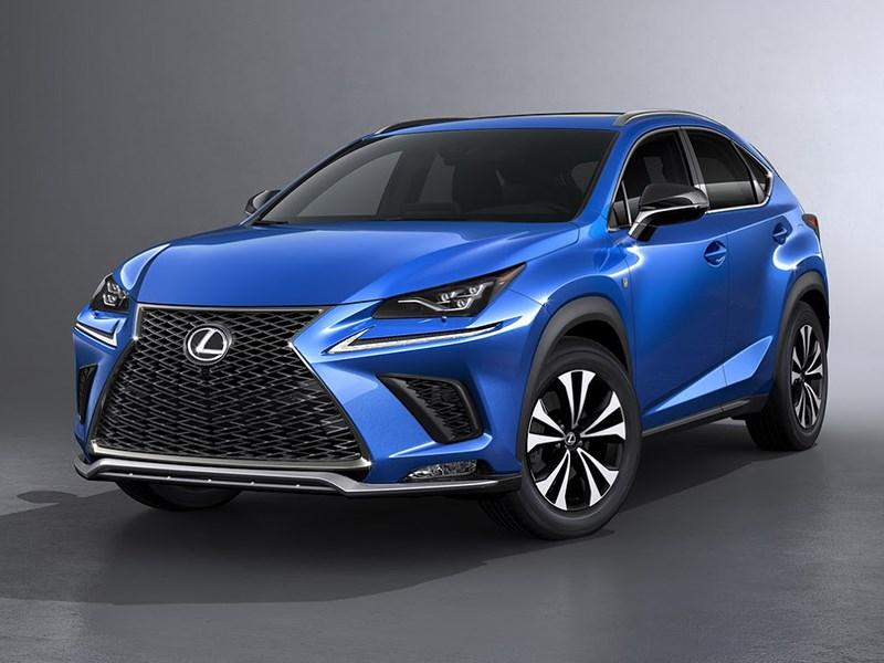 Lexus обновил кроссовер NX