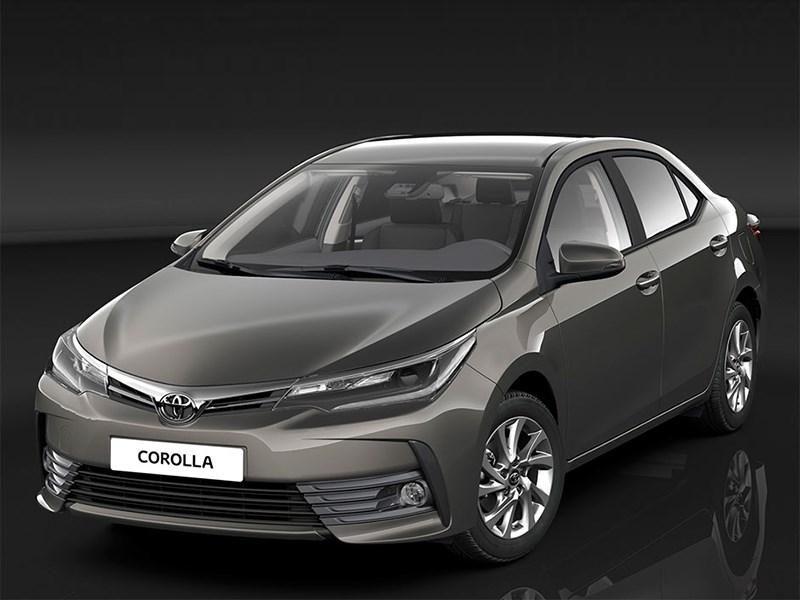 Новое поколение Toyota Corolla появится в 2018 году