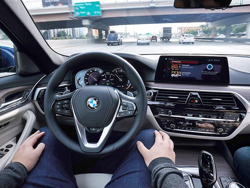 BMW начала тесты автономных автомобилей