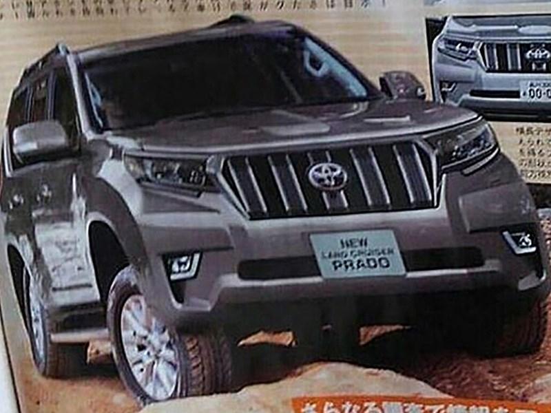 Land Cruiser Prado получит более серьезную внешность