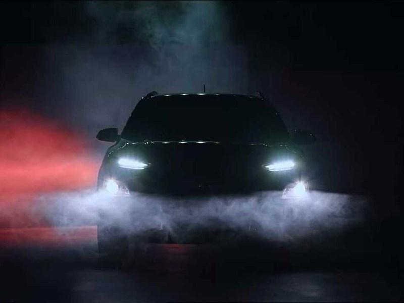 Новый кроссовер Hyundai представят через две недели
