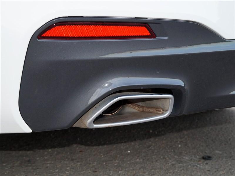 BMW 520d 2017 выхлопная труба