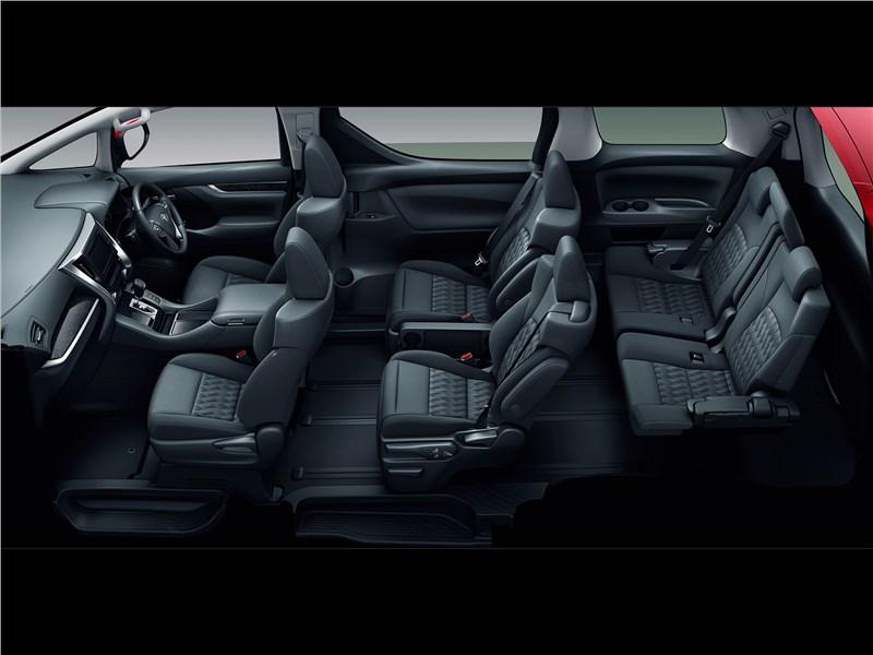 Toyota Alphard 2018 салон