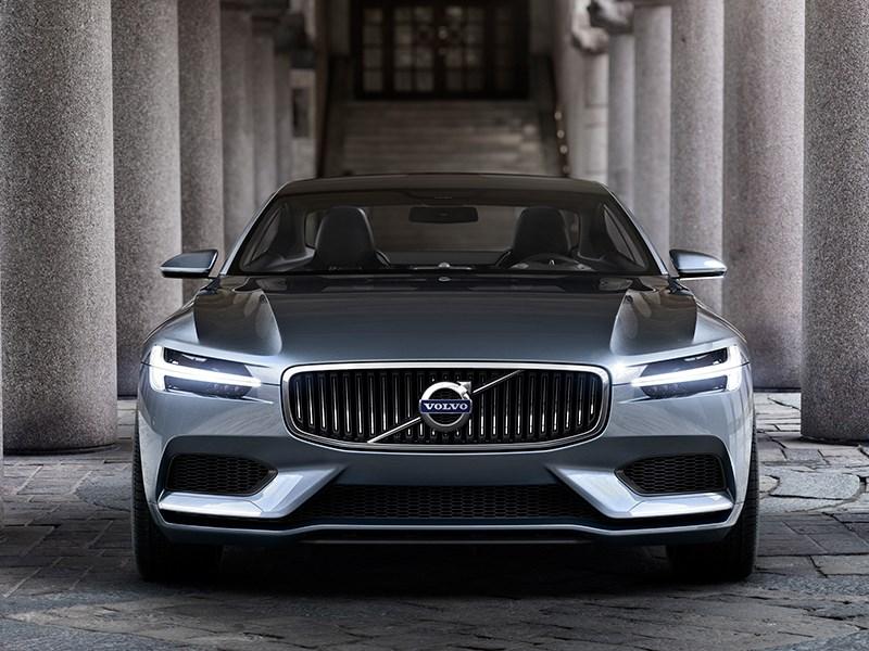 Volvo Coupe концепт 2013 вид спереди фото 5