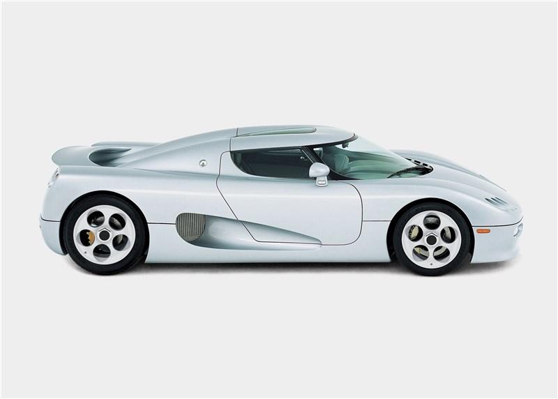 Koenigsegg CC 1998 вид в профиль