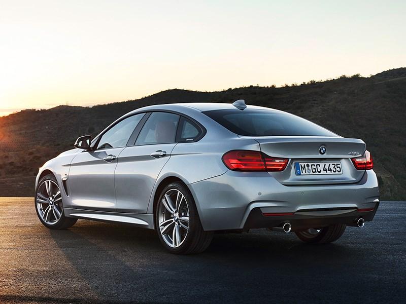 BMW 4 Series Gran Coupe 2014 вид сзади фото 2