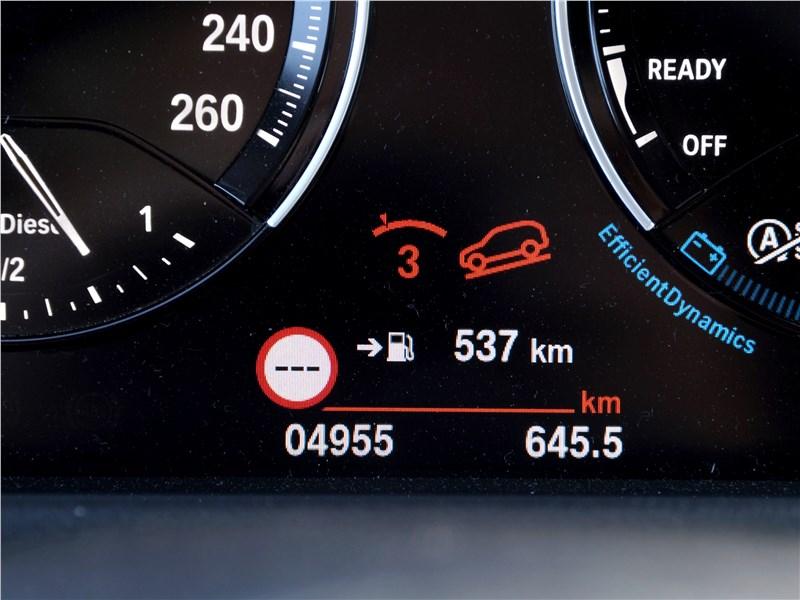 BMW X2 2019 приборная панель