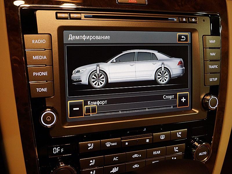 Volkswagen Phaeton 2011 центральная консоль