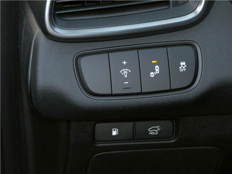 Kia Sorento Prime 2018 панели кнопок