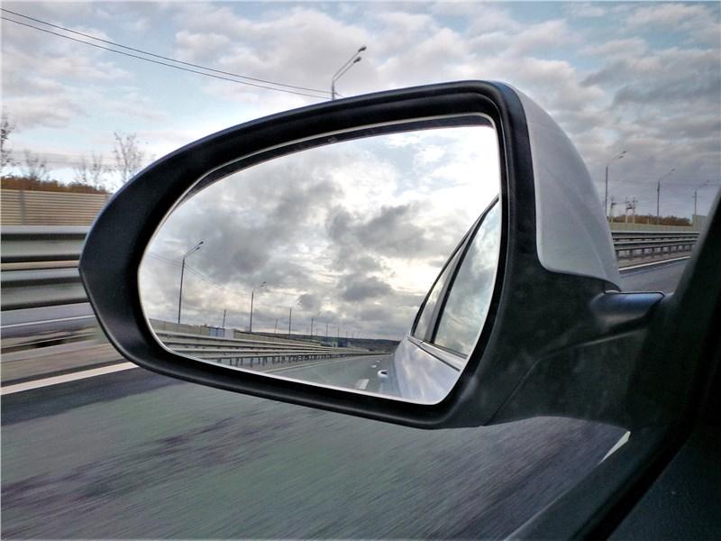 Hyundai Elantra 2019 боковое зеркало