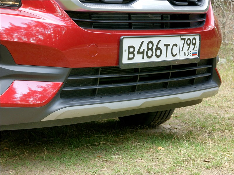 Kia Seltos 2020 передний бампер