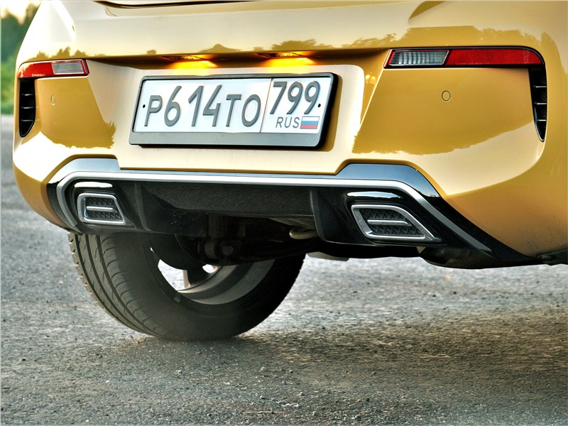 Kia Picanto (2021) задний бампер