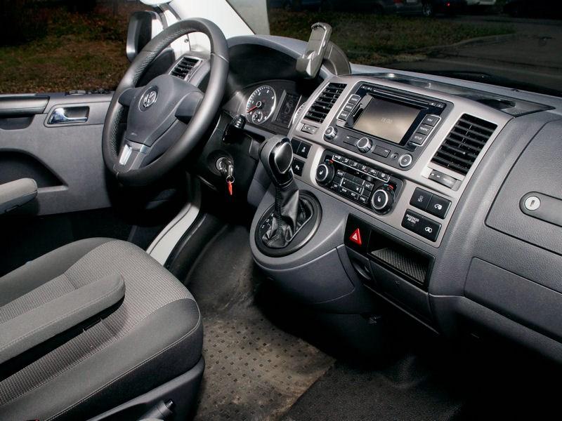 Volkswagen Caravelle водительское место
