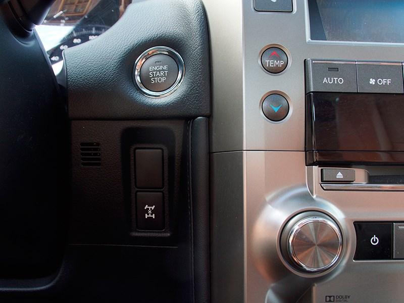 Lexus GX 460 2014 кнопка блокировки «центра»