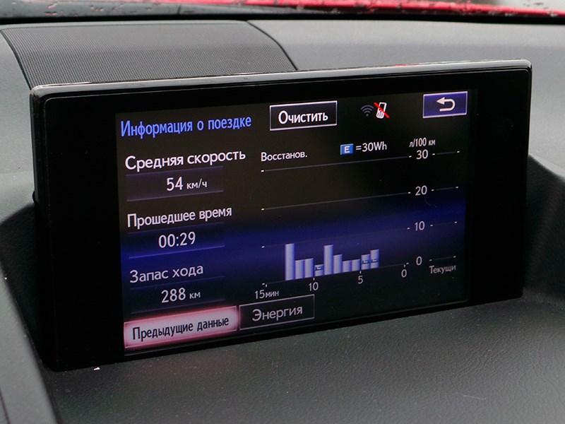 Lexus CT 200h 2014 дисплей фото 3