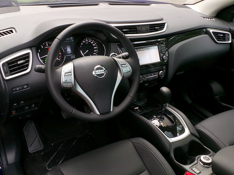 Nissan Qashqai 2014 салон