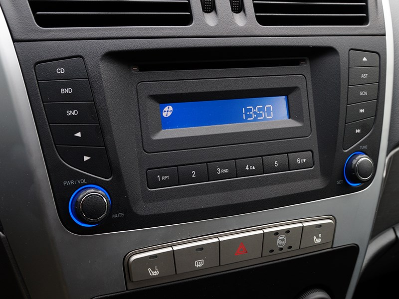 Geely Emgrand X7 2014 аудиосистема
