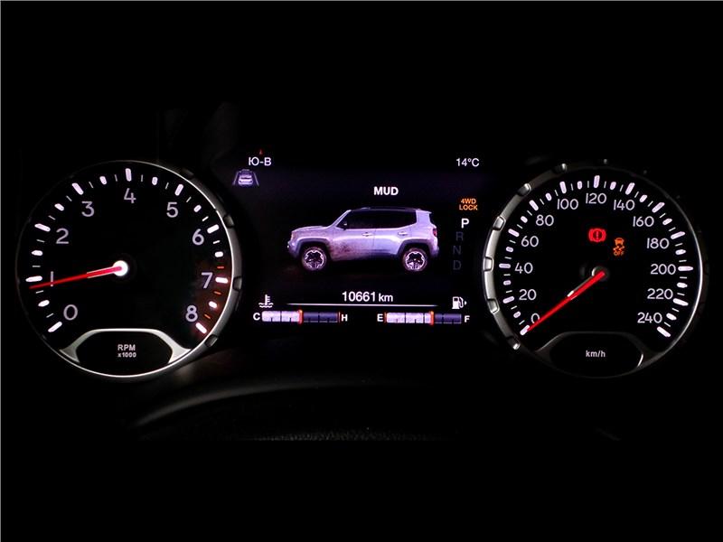 Jeep Renegade 2014 приборная панель