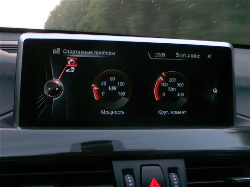 BMW X1 2016 монитор