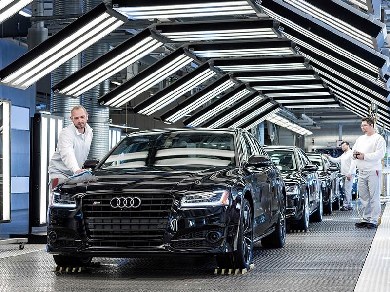 В России могут возобновить сборку Audi