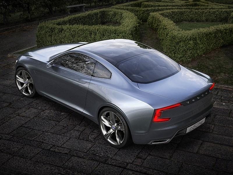 Volvo Coupe концепт 2013 вид сверху фото 3
