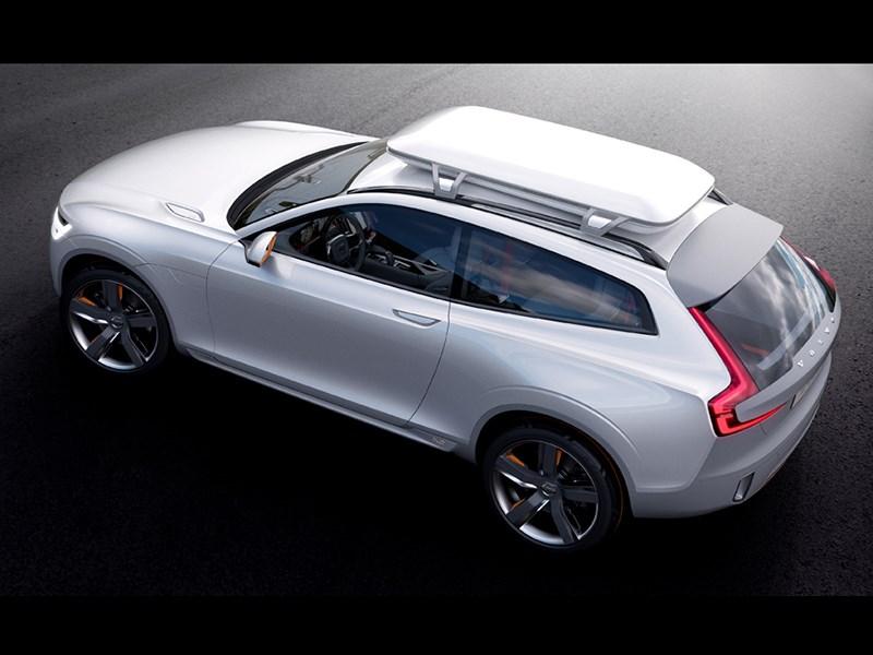 Volvo XC Coupe concept 2014 вид сверху