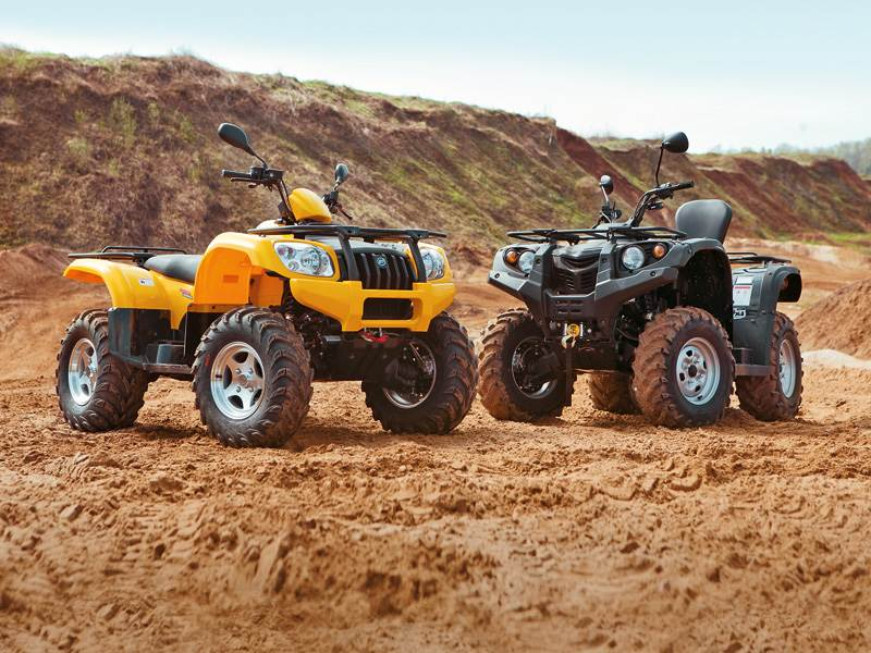 ATV 500 H.