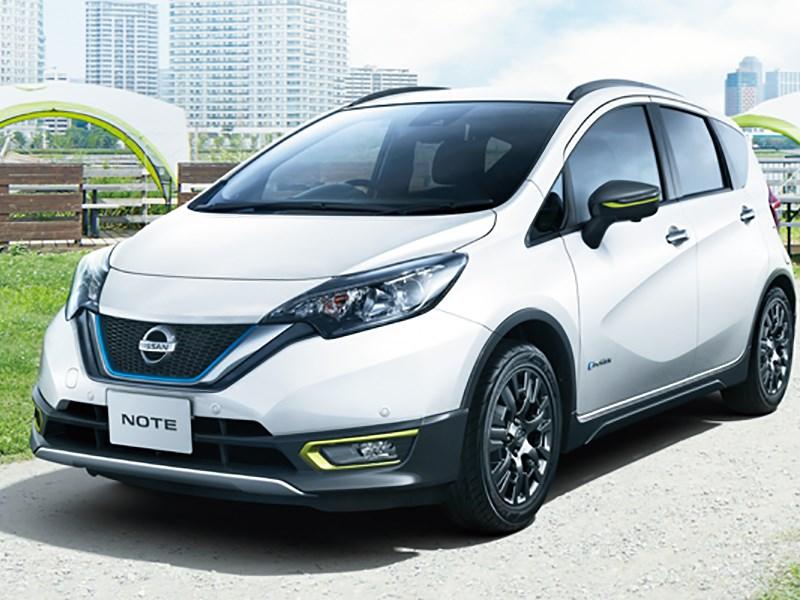 Nissan показал новую версию Note. Не для России. Не для Европы