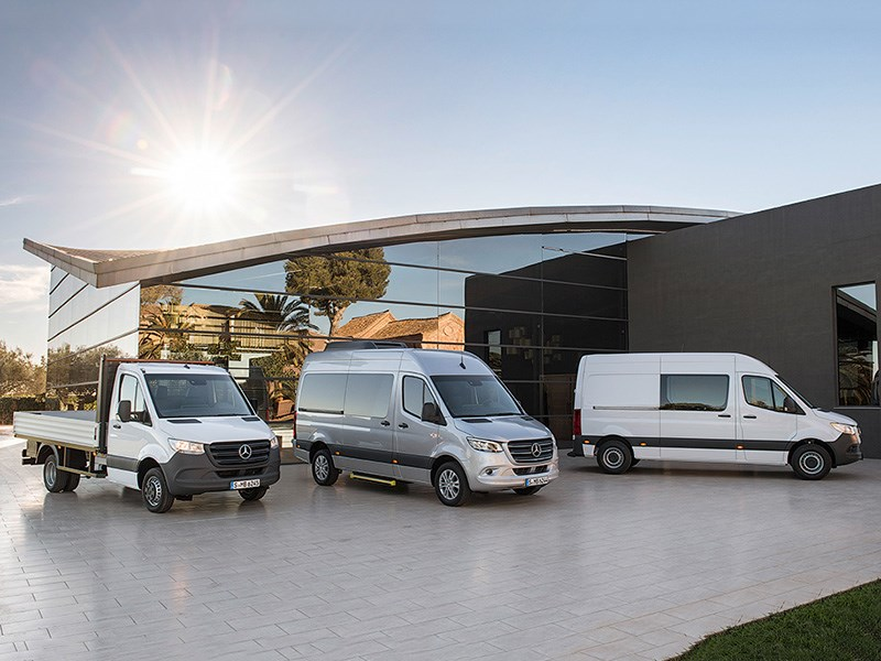 Mercedes-Benz представил новый Sprinter