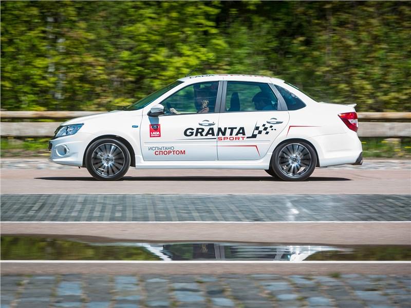 Lada Granta Sport 2017 вид сбоку