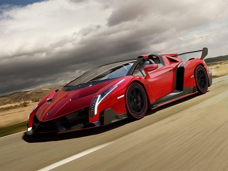 Появились официальные изображения родстера Lamborghini Veneno