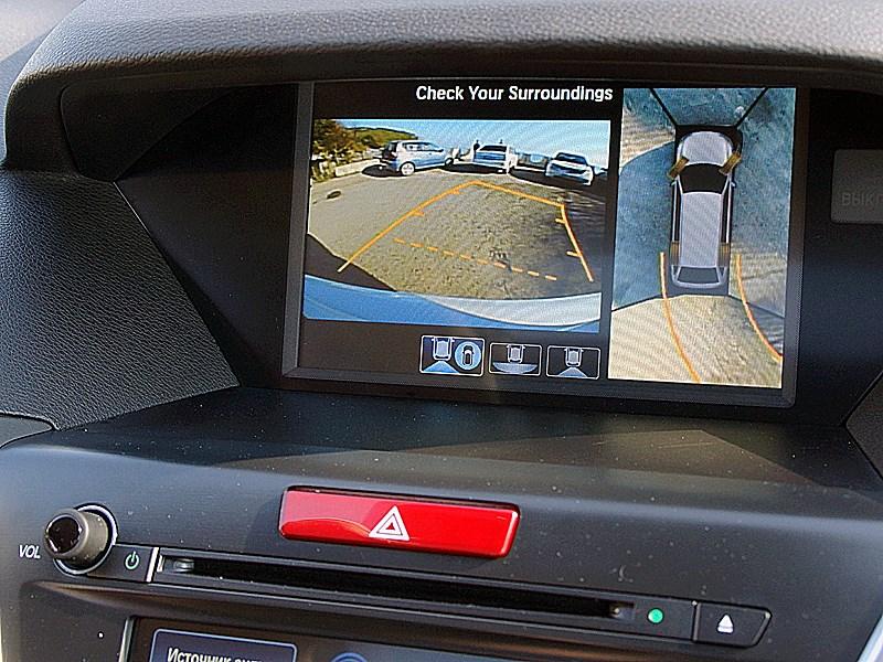 Acura MDX 2014 монитор компьютера