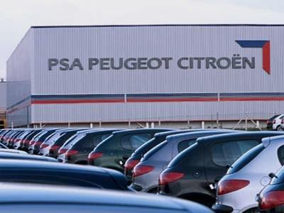 PSA Peugeot Citroen сокращает производство во Франции
