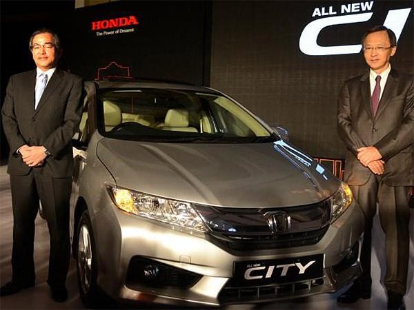 Новая версия Honda City была представлена в Нью-Дели