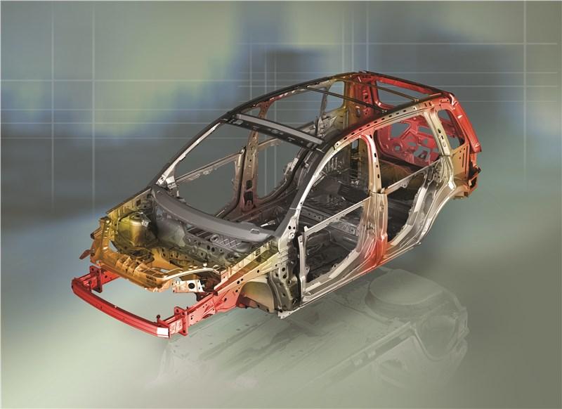 Ford Fusion 2002 силовая структура кузова