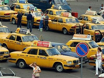 Московским таксистам разрешат стоять под запрещающими знаками