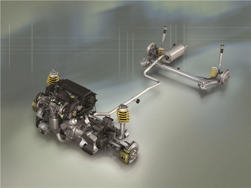 Ford Fusion 2002 силовой агрегат