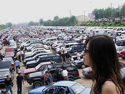 Китайский авторынок поставил рекорд годовых продаж