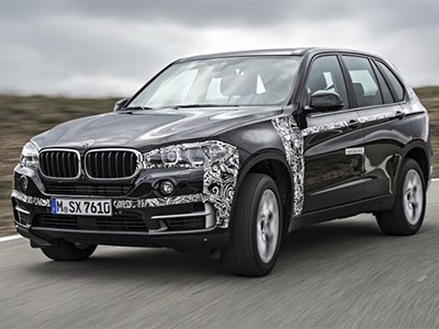 BMW обещает скоро выпустить на рынок серийную версию гибрида X5 Edrive