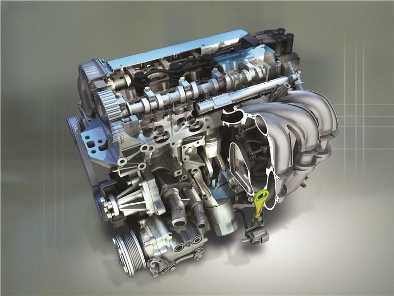 Ford Fusion 2002 двигатель в разрезе