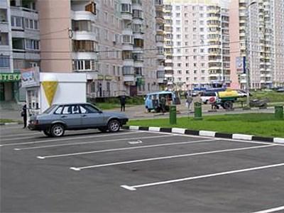 Место для парковки автомобиля в Москве станет короче
