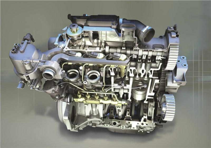 Ford Fusion 2002 двигатель в разрезе вид сбоку