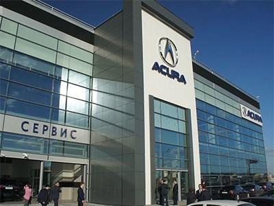 В России открылся первый дилерский центр Acura