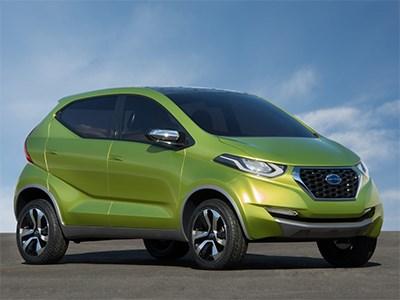 Datsun привезет в Россию бюджетный субкомпактный кроссовер redi-Go