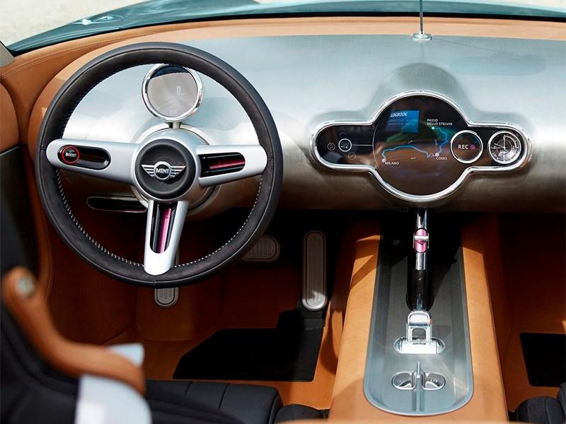 MINI Superleggera Vision concept 2014 водительское место