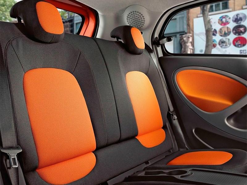 Smart Forfour 2015 задние кресла